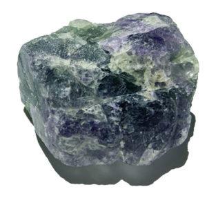 fluorite arc en ciel pierre taille moyenne
