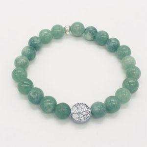bracelet en jade arbre de vie