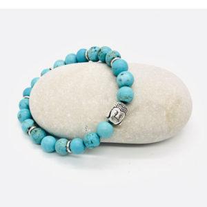 bracelet turquoise bouddha
