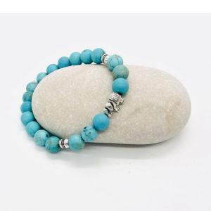 bracelet turquoise éléphant